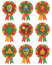 Stock Image : Mexican rosettes