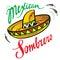 Stock Image : Mexican Sombrero