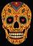 Stock Image : Mexican sugar skull