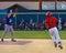 Stock Image : Midnight Sun Baseball Game