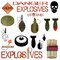 Stock Image : Military and industrial explosives