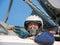Stock Image : Military pilot