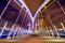 Stock Image : millenium bridge manchester