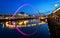 Stock Image : Millennium Bridge Newcastle