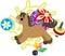 Stock Image : The Mini Animal  -Horse-