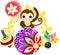 Stock Image : The Mini Animal  -Monkey-