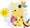 Stock Image : The Mini Animal  -Rabbit-