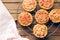 Stock Image : Mini pizza