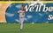 Stock Image : Minor league baseball - fielding a fly ball