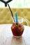 Stock Image : Mix berry juice