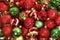 Stock Image : Mix of Christmas Ball Ornaments