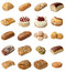 Stock Image : Mixed Bakery Selection