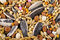 Stock Image : Mixed bird food closeup