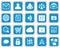Stock Image : Mobile Web Services Icon set