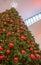 Stock Image : A Modern Christmas tree