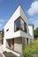Stock Image : Modern Dutch home with white facade