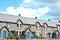 Stock Image : modern welsh cottages