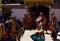 Stock Image : Monastery festival masked dancers