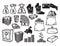 Stock Image : Money icons set