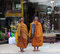 Stock Image : Monks collect pious alms