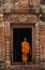 Stock Image :  Monnik in het Historische Park van Prasat Phanomrung