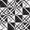 Stock Image : Monochrome Geometric Pattern