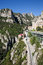 Stock Image : Montserrat Mountains Rack Railway in Catalonia