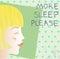Stock Image : More sleep