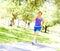 Stock Image : Morning Jog