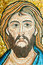 Stock Image : Mosaic: Christ,s face