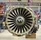 Stock Image :  motor de avión