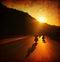Stock Image : Motorcycle ride