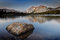 Stock Image : Mount Conness and Lower Young Lake