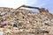 Stock Image : Mountain of garbage