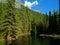 Stock Image : Mountain pond