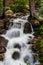 Stock Image : Mountain stream waterfall