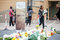 Stock Image : Mourners Gather for Mandela