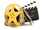 Stock Image : Movie film reels
