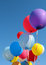 Stock Image : Multicolored balloons