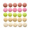 Stock Image : Multicolored macarons