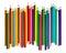 Stock Image : Multicolored pencils