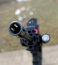 Stock Image : Rifle muzzel
