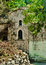 Stock Image : Mysterious orthodox church in the middle of forest, Samos, Greec
