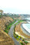 Stock Image :  Nabrzeżna droga w Lima