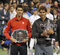 Stock Image : Nadal trophy Djokovic at US Open 2013 (20)