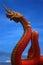 Stock Image : Naga statue of thailand