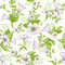 Stock Image :  Nahtloses Muster der Retro- Blume - Wildflowers