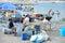 Stock Image : Naples fisherrmen