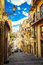 Stock Image : Narrow street of Caltagirone
