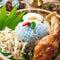 Stock Image : Nasi kerabu